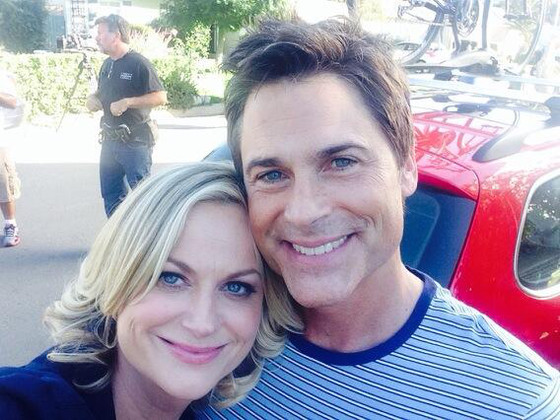 Amy Poehler and Rob Lowe, Parks and Rec