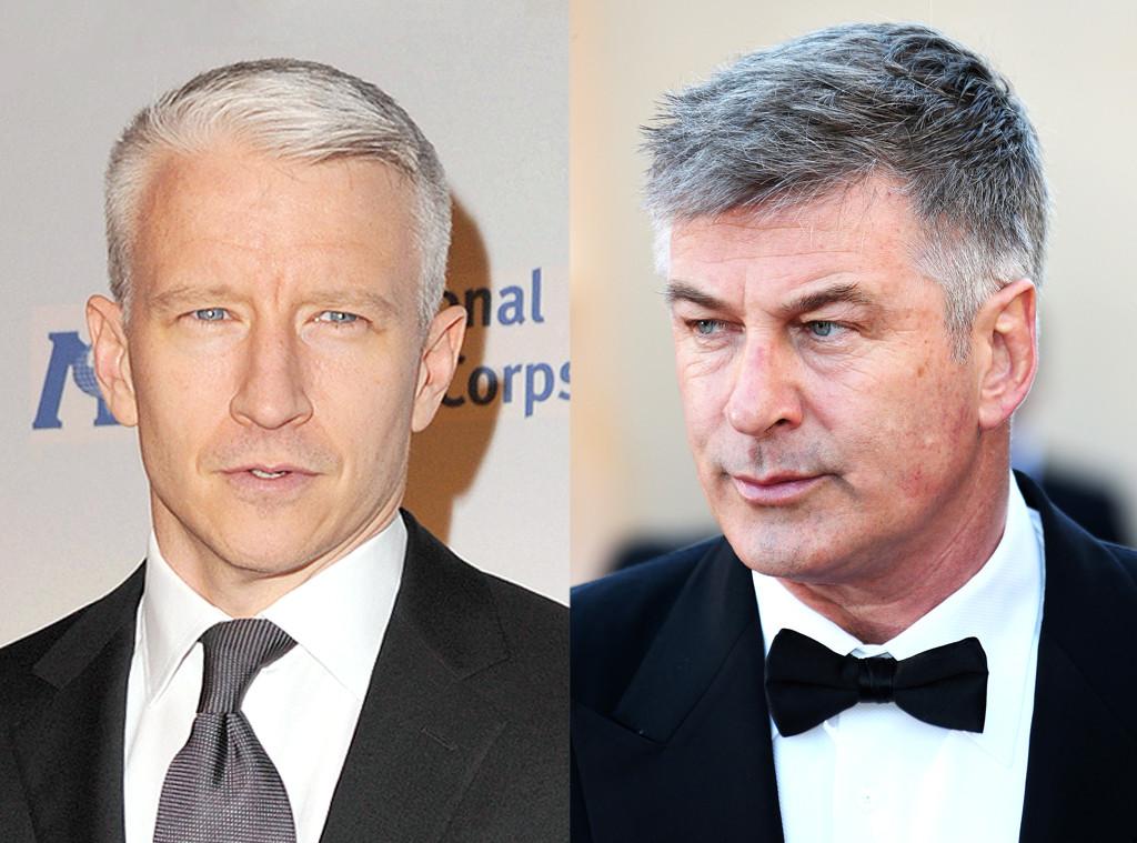 Anderson Cooper, Alec Baldwin