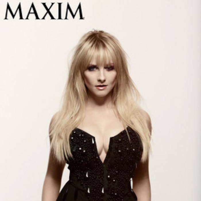 9de71a8ecf Big Bang Theory Star Melissa Rauch Strips Down for Sexy Maxim Photo  Shoot—Check It Out!