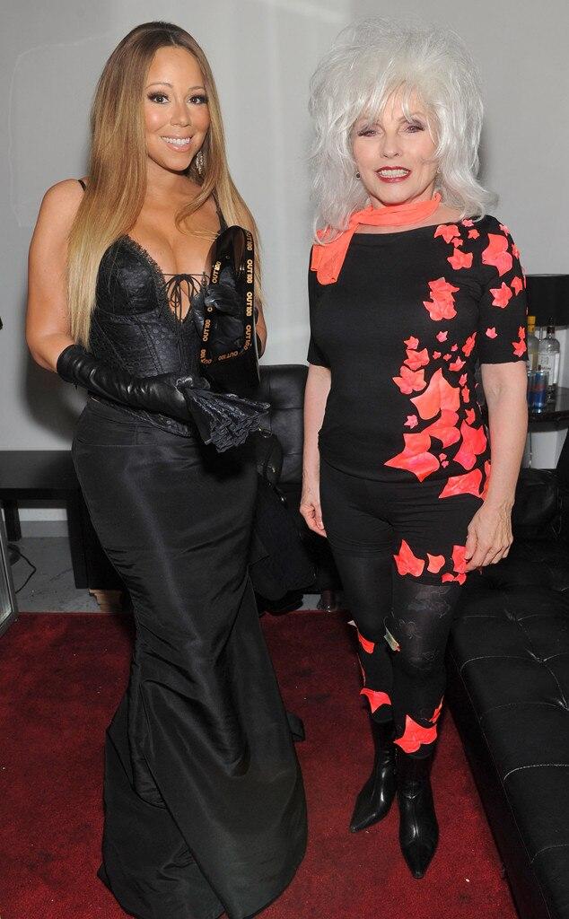 Mariah Carey, Debbie Harry