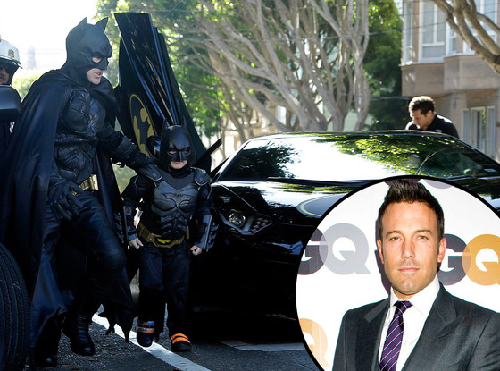 Batman, Batkid, Ben Affleck