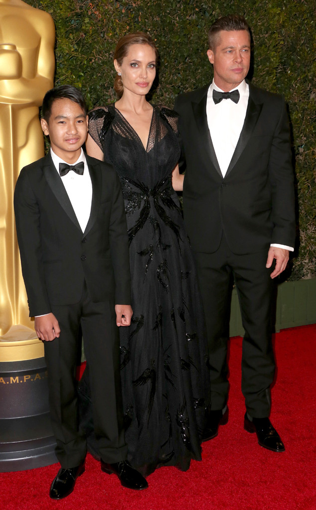 Angelina Jolie, Brad Pitt, Maddox Jolie-Pitt