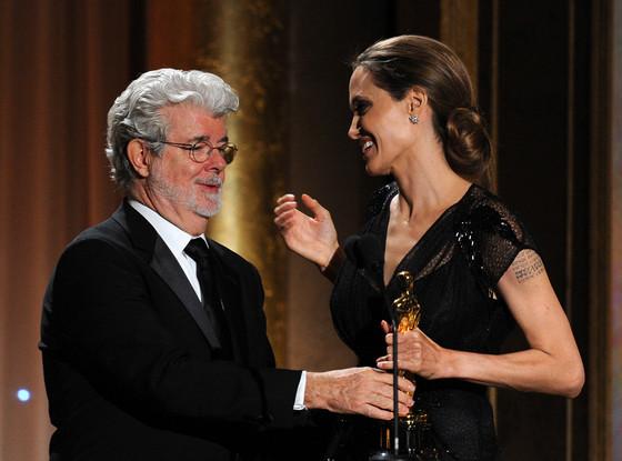 George Lucas, Angelina Jolie