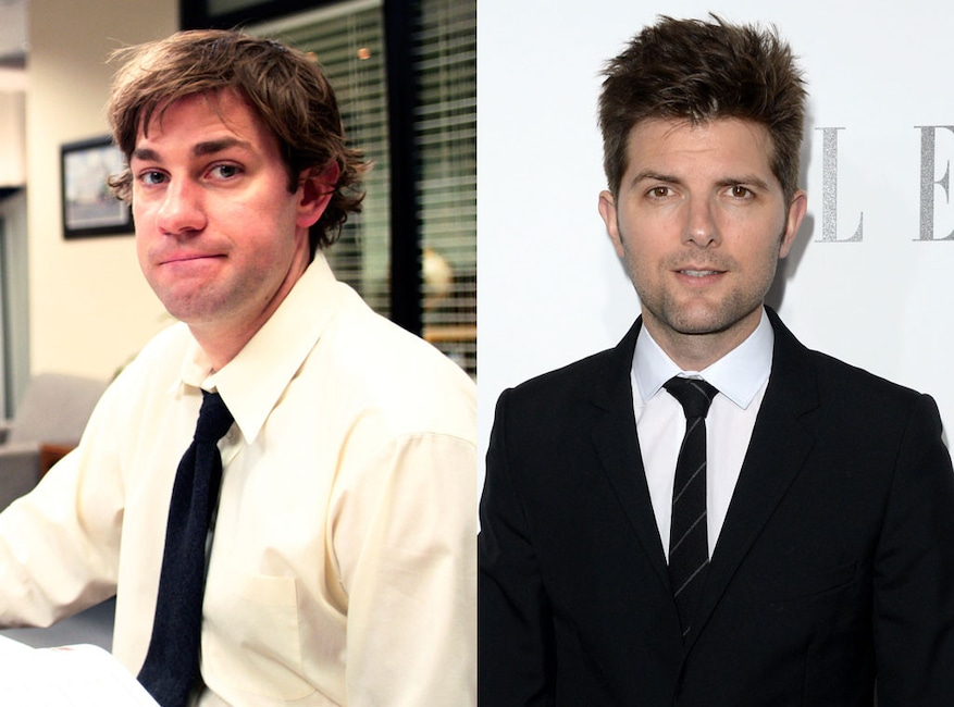 The Office, Adam Scott, John Krasinski, TV Roles That Might Have Been