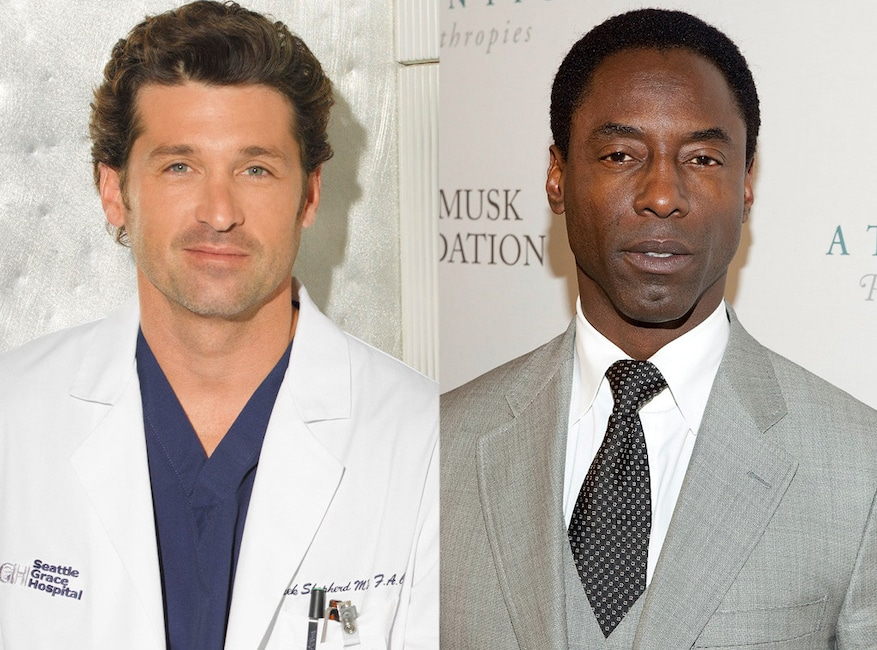 Patrick Dempsey, Isaiah Washington, Grey's Anatomy