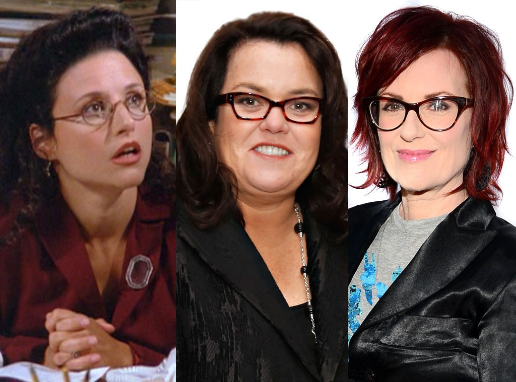Rosie O'Donnell, Megan Mullally, Julia Louis Dreyfus, Seinfeld