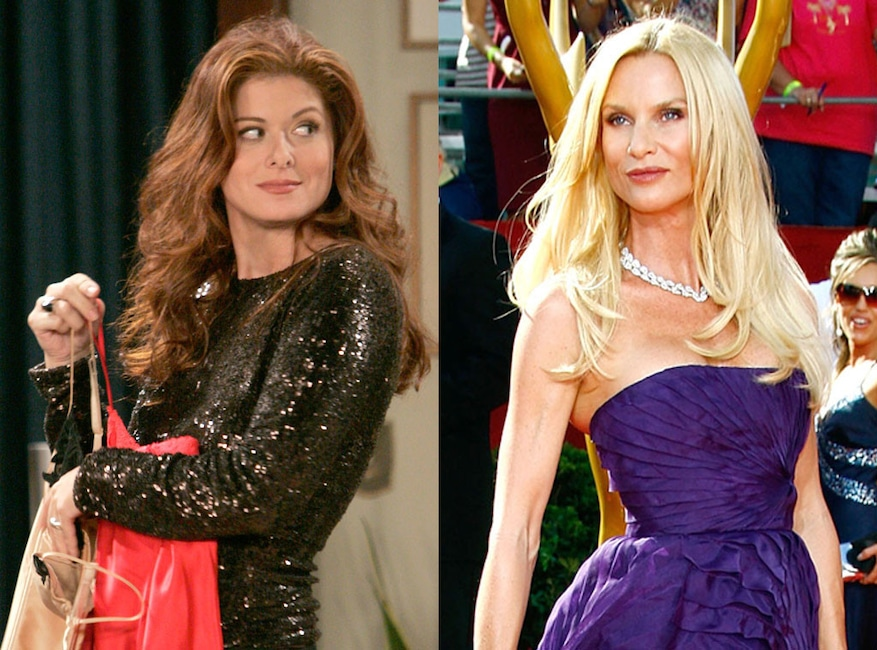 Nicollette Sheridan, Debra Messing, Will & Grace