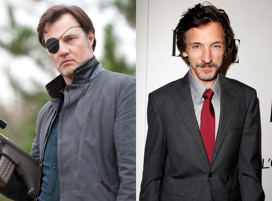 John Hawkes, David Morrisey, The Walking Dead