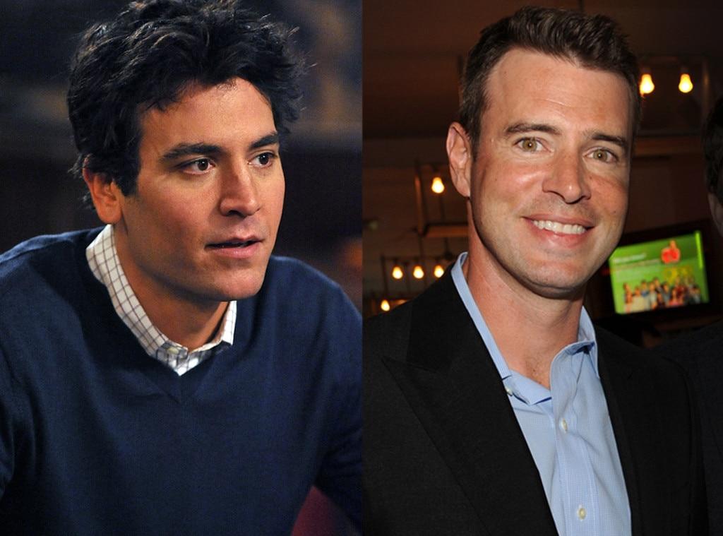 Josh Radnor, Scott Foley, How I Met Your Mother