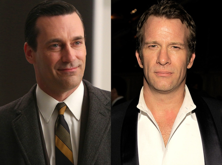 Jon Hamm, Thomas Jane, Mad Men