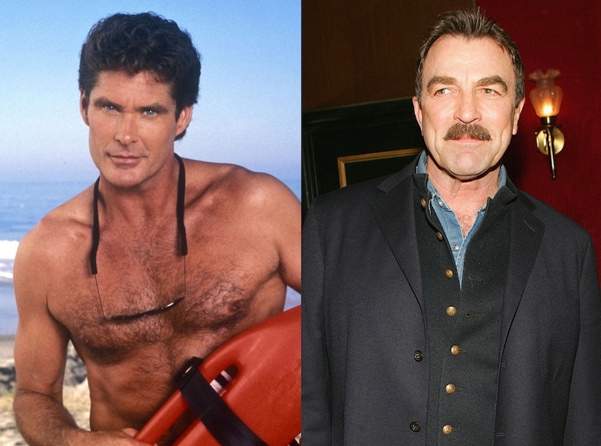 Tom Selleck, David Hasselhoff, Baywatch