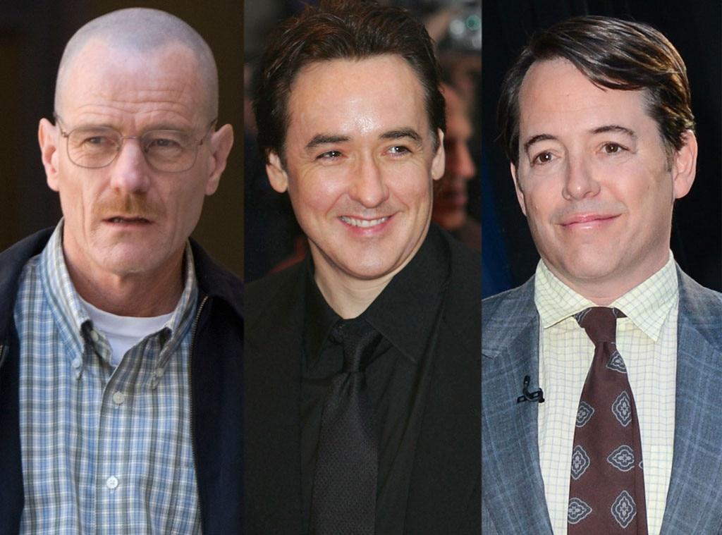 Bryan Cranston, John Cusack, Matthew Broderick, Breaking Bad