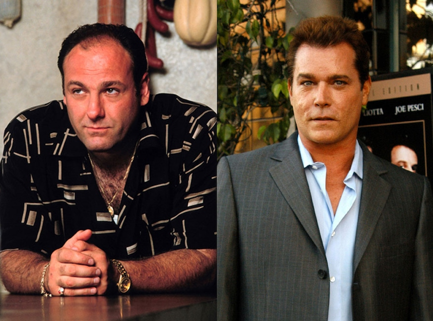 Ray Liotta, James Gandolfini, The Sopranos