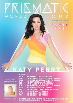Katy Perry, Prism World Tour