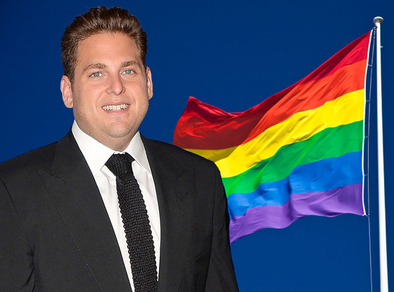 Jonah Hill, Gay Pride Flag