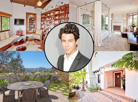 Inside Jonas Wood S Perspective Bending Interior World: Nick Jonas Buys Stunning Hollywood Hills Mansion For $3.2
