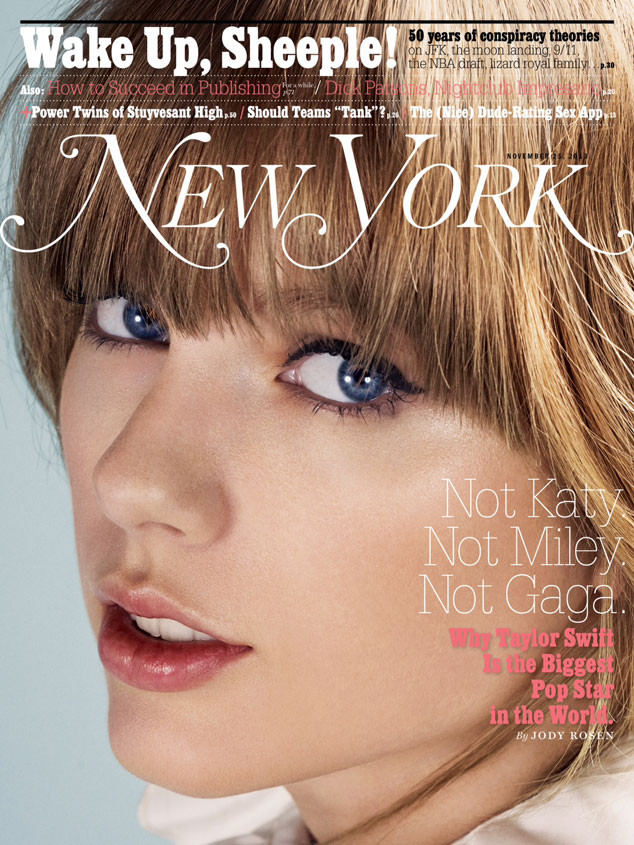 New York Magazine, Taylor Swift
