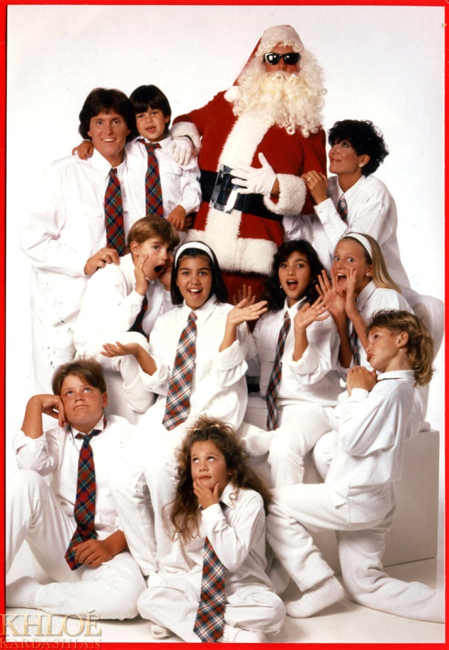Early 1990s from Kardashians\' Christmas Cards Throughout the Years ...