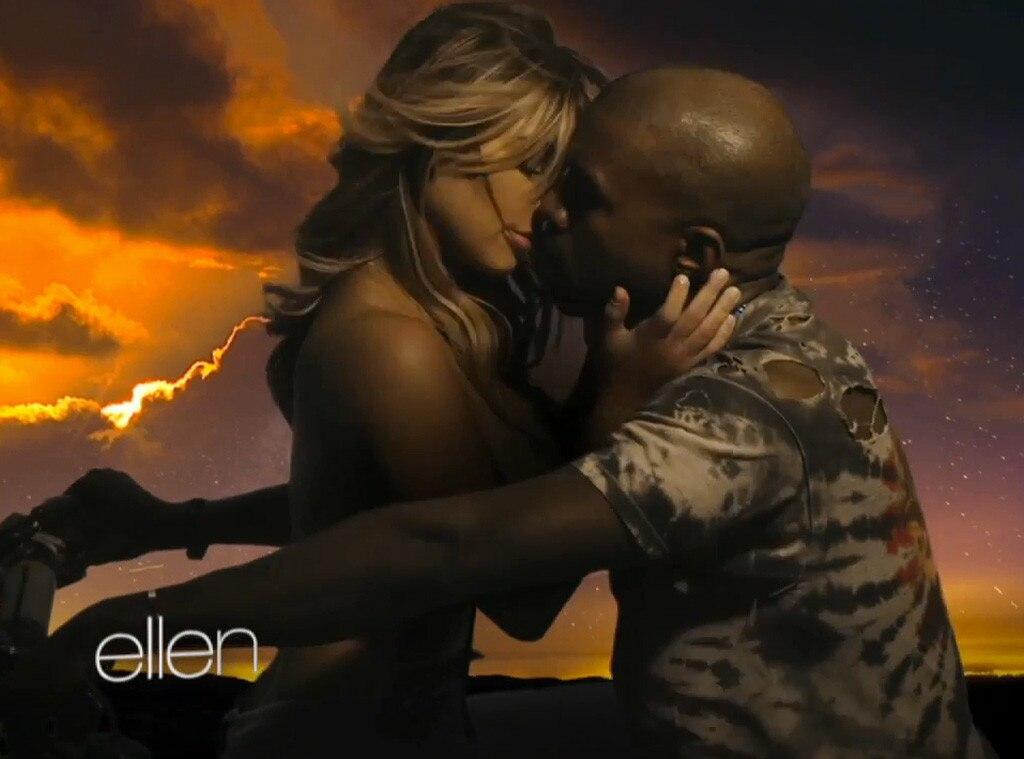 Kanye West, Kim Kardashian, Ellen DeGeneres, Bound 2