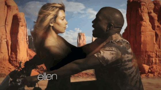 Kim Kardashian, Kanye West, Bound 2