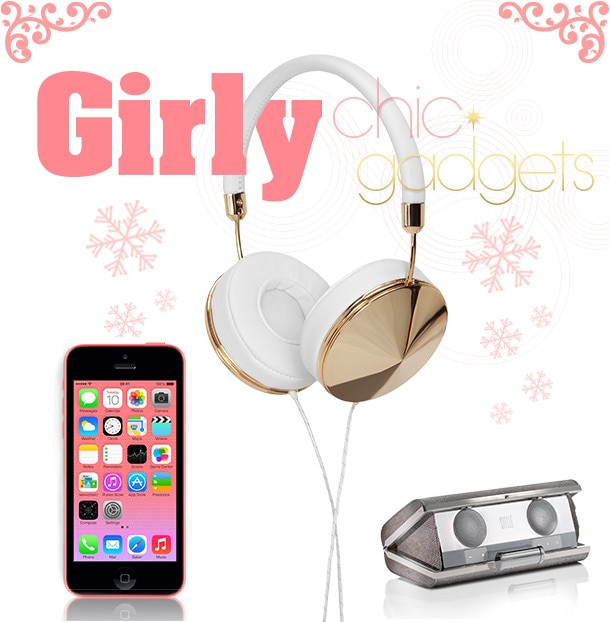 2013 Holiday Gift Guide - Girly Gadgets