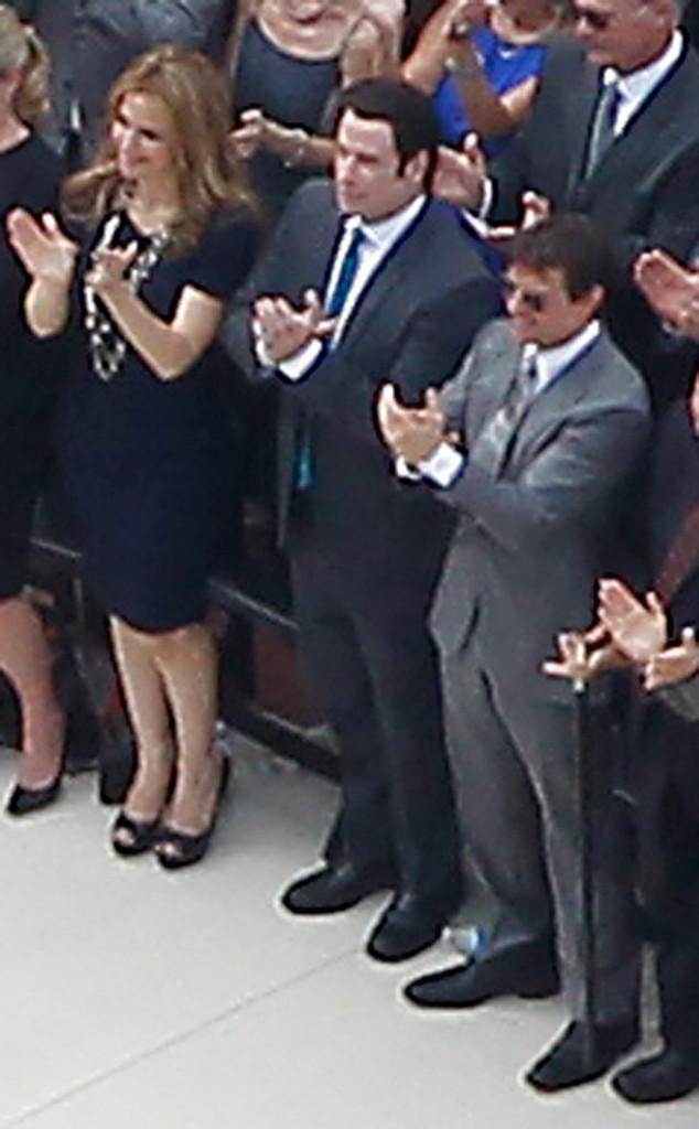 Kelly Preston, John Travolta, Tom Cruise, Scientology