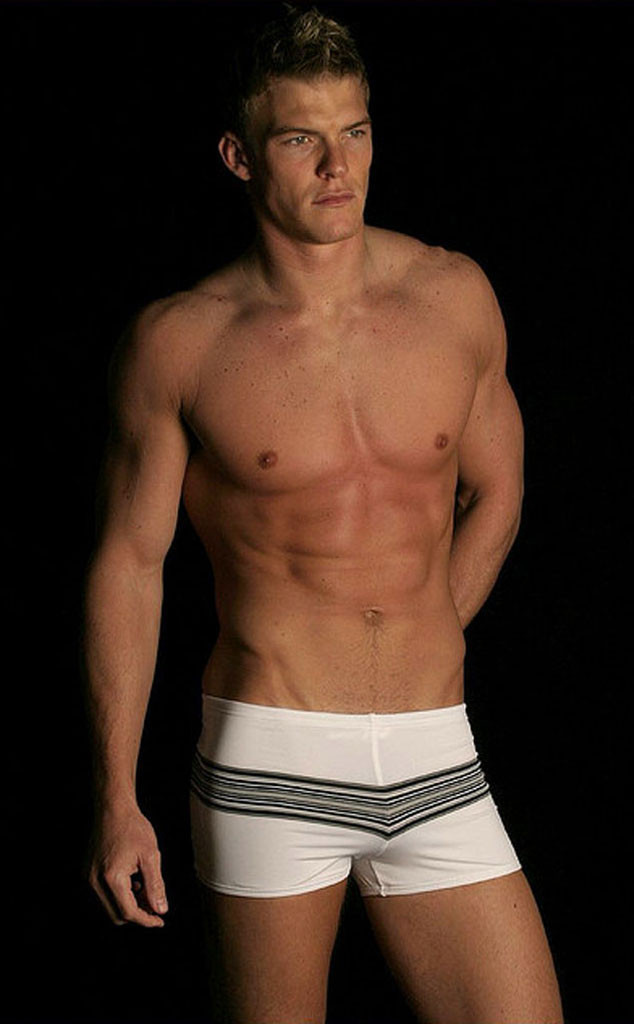 Alan Ritchson, Underwear Model