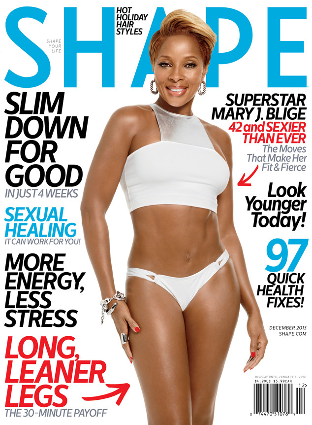 Mary J. Blige, Shape Magazine