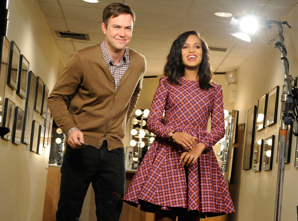 Kerry washington and taran killam from the big picture - Who was in my room last night live ...