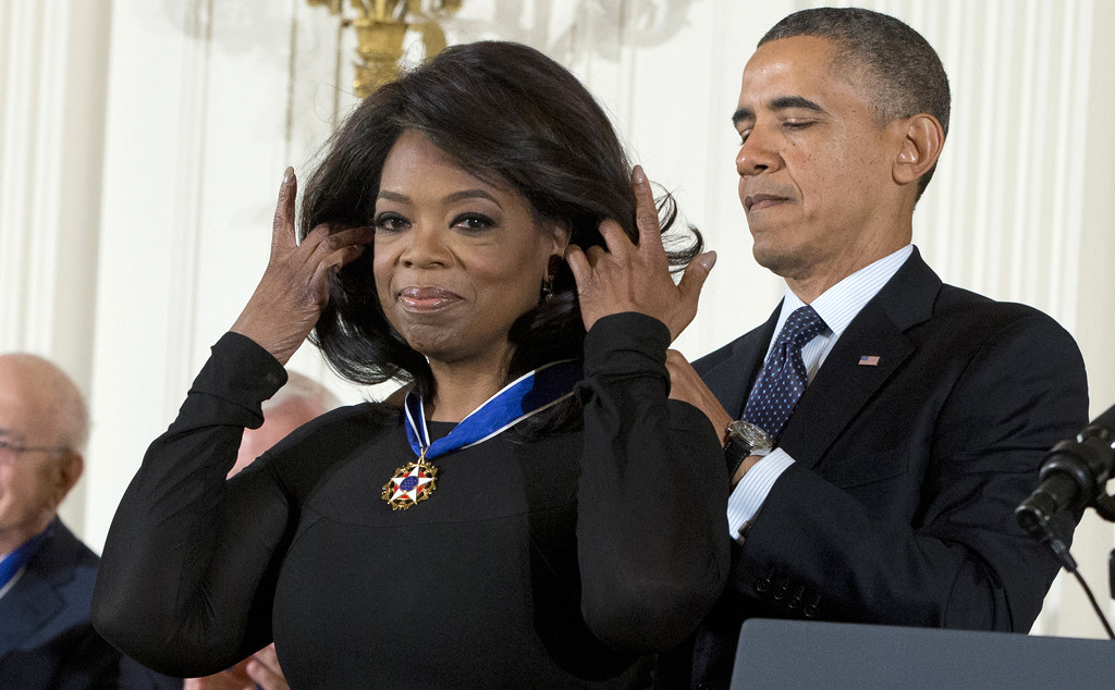 Oprah Winfrey, Barack Obama, Presidential Medal Of Freedom