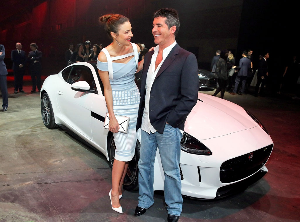 Miranda Kerr, Simon Cowell