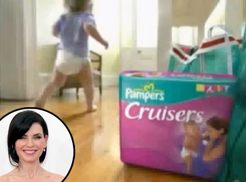 Julianna Margulies, Pampers, Celebrity Voiceovers