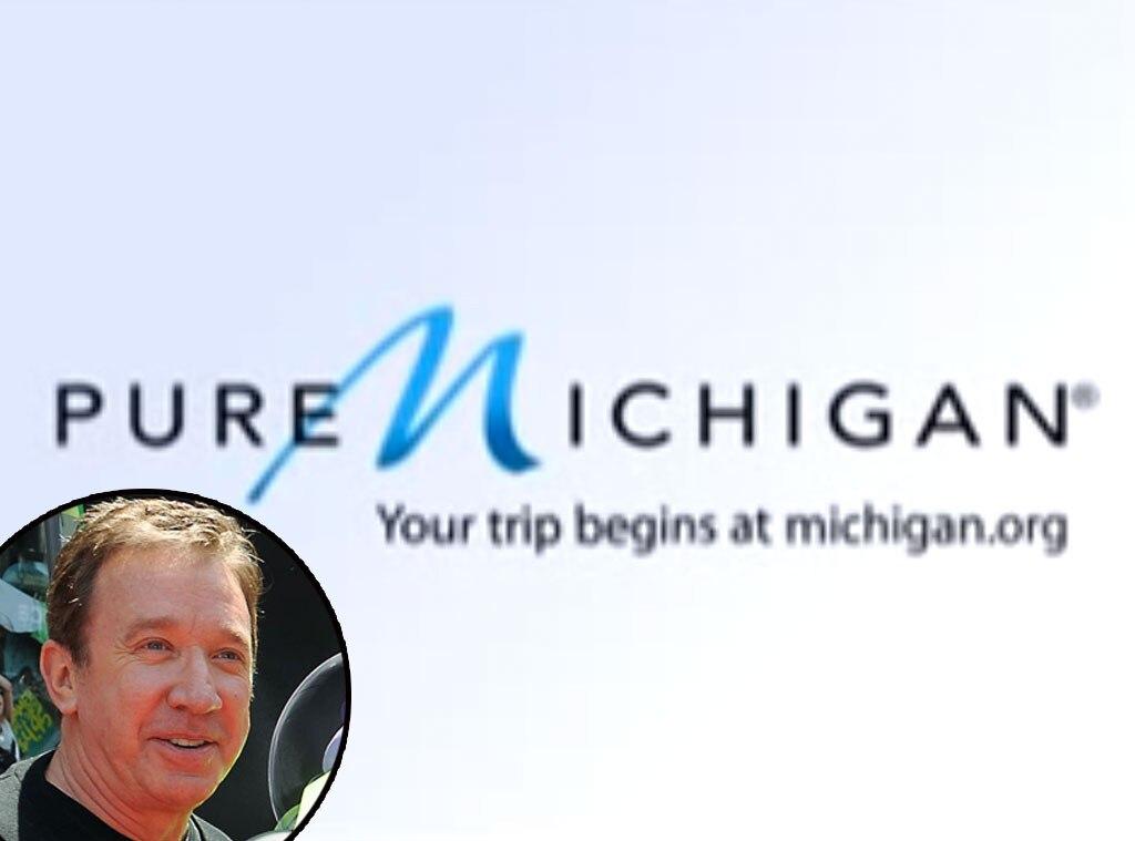 Tim Allen, Pure Michigan, Celebrity Voiceovers