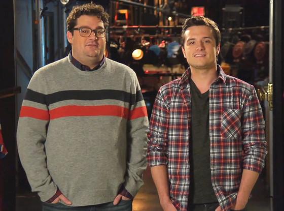 Bobby Moynahan, Josh Hutcherson, SNL Promo