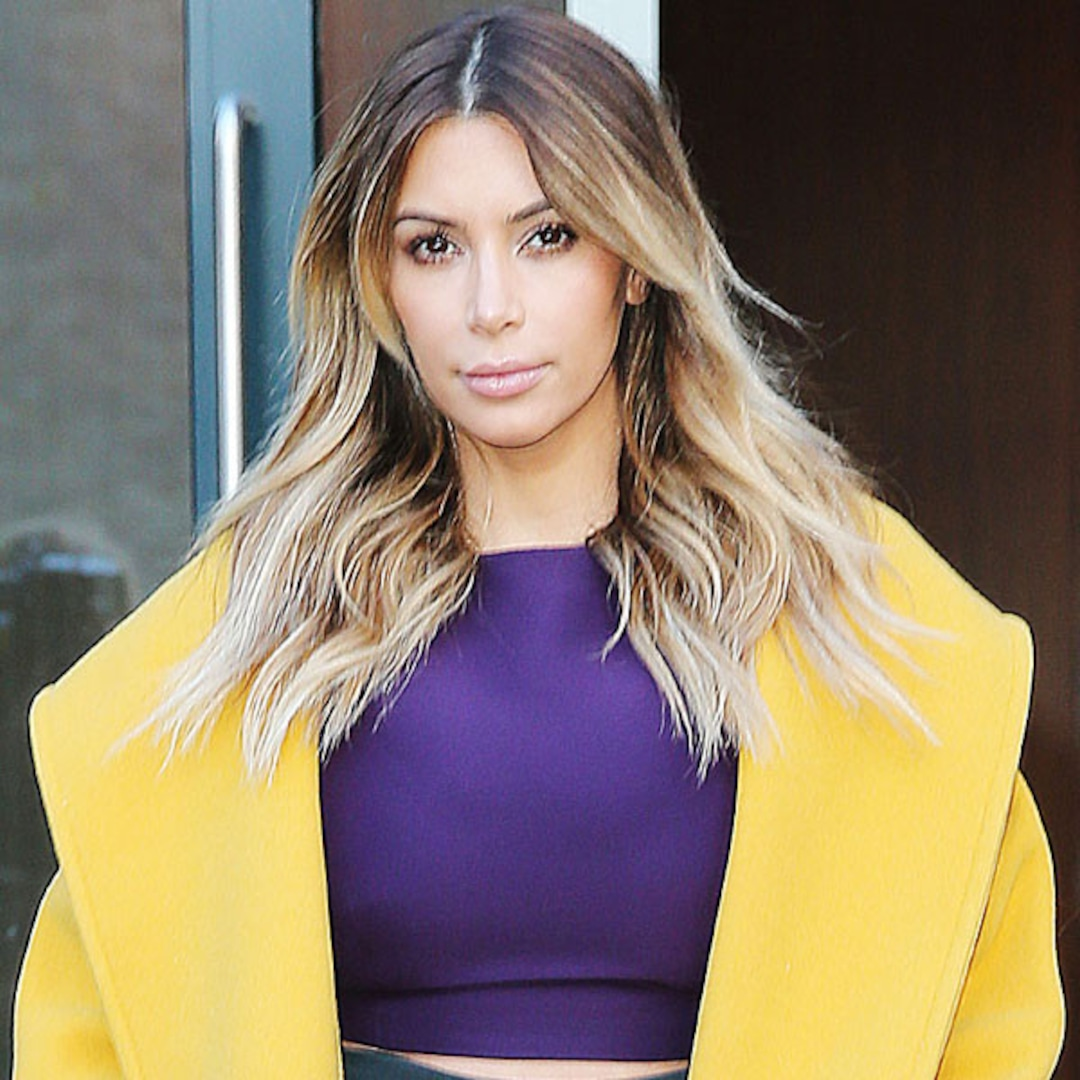 Kim Kardashian Brightens Up New York in Not-So-Mellow ...