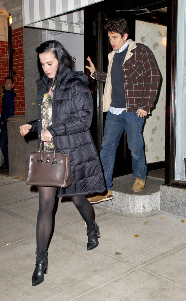 Katy Perry, John Mayer, NYC