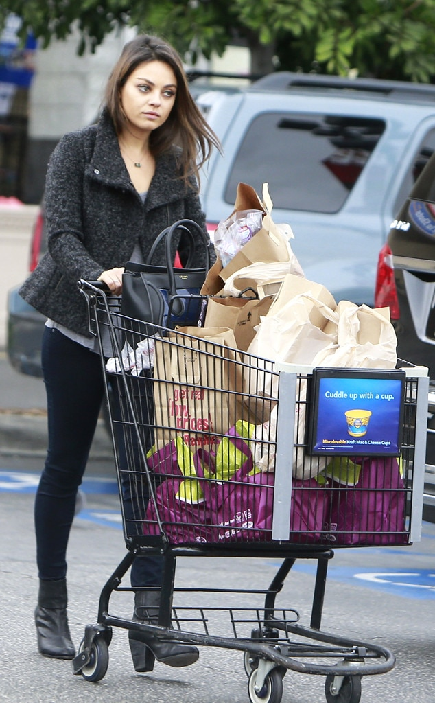Mila Kunis from Celebrities Grocery Shopping | E! News