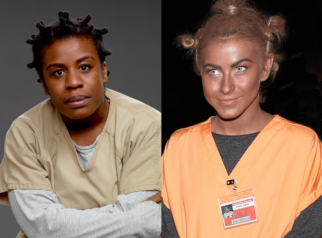 Julianne Hough, Uzo Aduba, Orange is the New Black