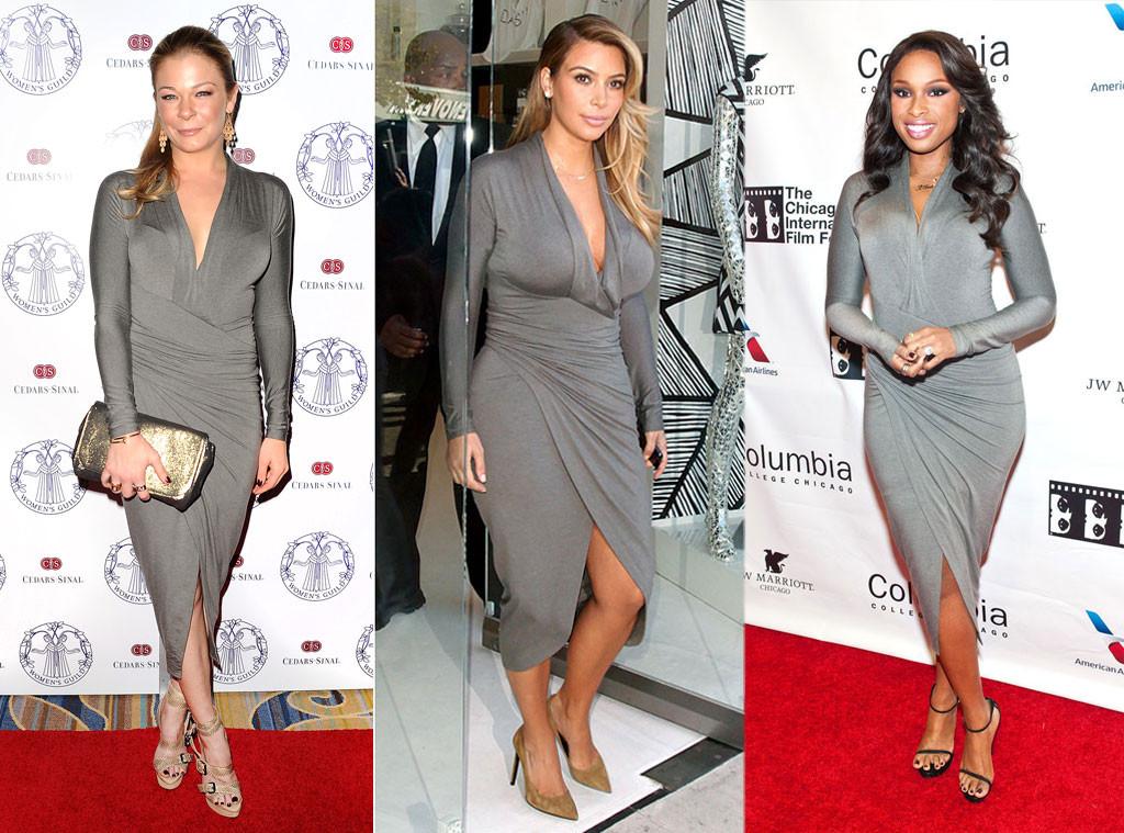 LeAnn Rimes, Kim Kardashian, Jennifer Hudson