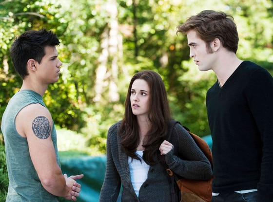Taylor Lautner, Kristen Stewart, Robert Pattinson, Twilight Eclipse