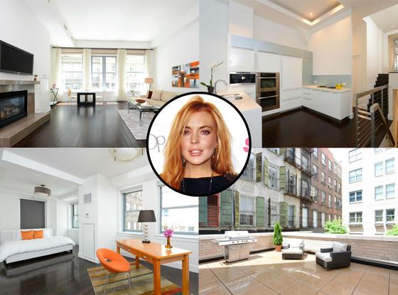 Lindsay Lohan, Apartment
