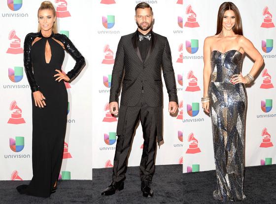 Carmen Electra, Ricky Martin, Roselyn Sanchez