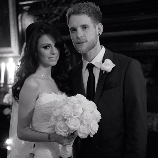 Cher Lloyd Marries Craig Monksee A Picture From The Singers Secret