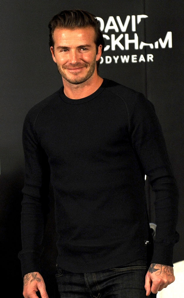 David Beckham, H&M, Shanghai, China