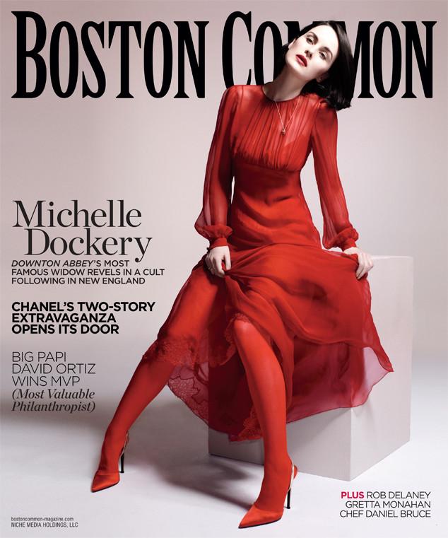 Michelle Dockery, Boston Common Magazine