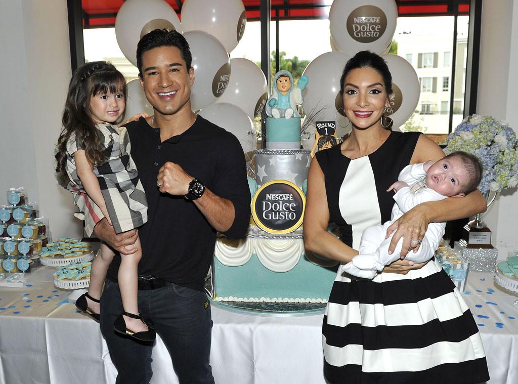 Mario Lopez, Baby Shower, Katsuya, Nescafe, Dominic