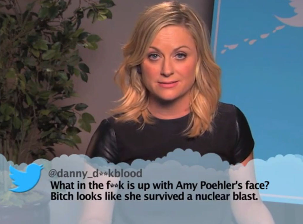 Amy Poehler, Mean Tweets