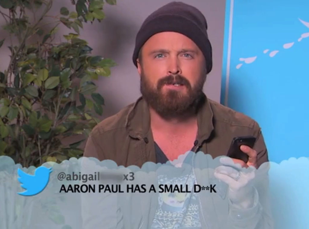 Aaron Paul, Jimmy Kimmel, Mean Tweets