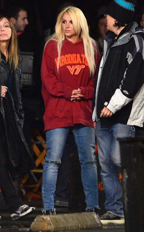 "Britney Spears, ""Perfume"" Music Video"