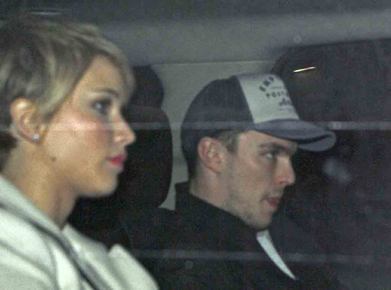 Jennifer Lawrence, Nicholas Hoult, The Daily Show, Car